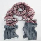 ladies heavy chunky knit scarf
