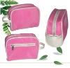 Pink mini microfiber cosmetic bag GE2014