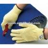 Anti-cut aramid gloves