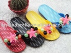 2011 new style PCU slipper Grape Flip Flops