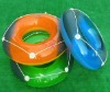 Inflatable Adult Swim Life Ring With Rope