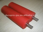 Soft PU Rubber roller for die-cutting machine, good wear-resistance