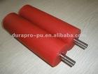 Soft PU Rubber roller for die-cutting machine, good wear-resistance