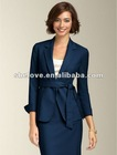 Seasonless ladies belted jacket