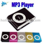 Fashionable Digital MP3 Player with Convenience Clip and LED Indicaton