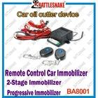 Remote controller Car inmobilizer engine oil cutter device