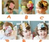 New style!! Cute Baby flower headbands infant cotton hair band/Baby cotton head scarf/Baby headwear/headdress