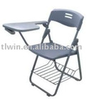 148 foldable writing chair with bag shelf
