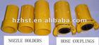 Sandblast nozzle holder