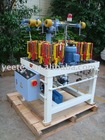 Shoe rope braiding machine