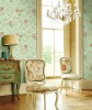 Luxury Non-Woven Gardon Country Style Wallcovering