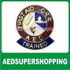 AED/CPR Trained Emblem Pin