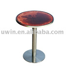 creative liquid led pub table,banquet bar table