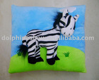 3D plush cushion