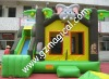 Commercial Inflatable Jungle Theme Bounce House