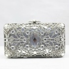 Coniefox Latest Style Ladies Elegant Handbag B162-Silver