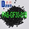 PA6 (Polyamide 6) with 30% glass fiber reinforced Black Equal to Zytel 73G30HSL BK416