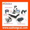 durable multi-purpose heat press machine for 6 in 1