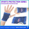 Set of 2 Palm Support Sport Hand Elastic Protector Blue short