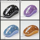 fasion jewelry usb mouse
