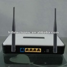 300M wireless 802.11B/G/N dual antenna 4p Router