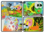 Educational eva foam animal puzzle for kids