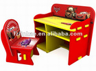 Kid car desk and chair