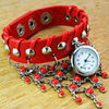 Hot Selling Fashion Vintage Leather Bracelet Watch/Jewelry Watch