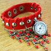 Hot Selling Fashion Vintage Leather Bracelet Watch/Jewelry Watch