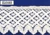 raw white cotton lace