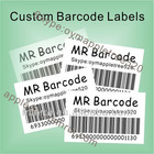 Custom Adhesive Barcode Label Stickers