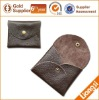 Custom Leather Coin Pouch For Promotion