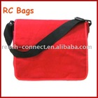 Red 600D bag,fashion 600D polyester shoulder bag