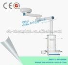 Modular ceiling pendant column medical equipment operating theatre