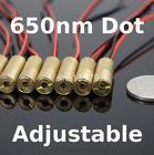 red 5mW Laser diode Module, Adjustable focus lens