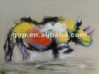 New Designs of handpainted wall art on canvas