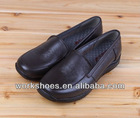 DALIBAI LATEST HANDMADE genuine leather brown casual women shoes with FACTORY PRICE