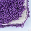 ultra soft long pile microfiber carpet