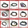 2012 FASHION beaded bracelets for kids shamballa bracelet