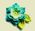 Large Hand Crochet Flower Made in China (KCC-HCF00210)