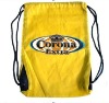 simple promotional drawstring bags