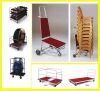 metal steel serving trolley (XYM86)