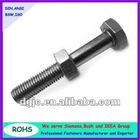 Hex bolts with hex nuts
