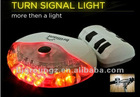 Wireless Sensor Bike Bicycle Led Automatic BRAKE STOP TURN SIGNAL Safety Rear Tail Back Auto Light Lamp