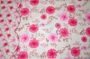 printed poly cotton bedding fabric