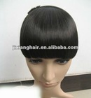 human hair extensions/remy human hair fringe/ fringe