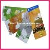 Printing custom hangtags for garment