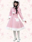Sweet-Pink-Wool-Bow-Lovely-Lolita-Coat