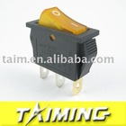 SPST switch KCD3-102N yellow
