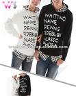 Lovers Hoodie Sweater / Lovers Pullover Printed Hoodie